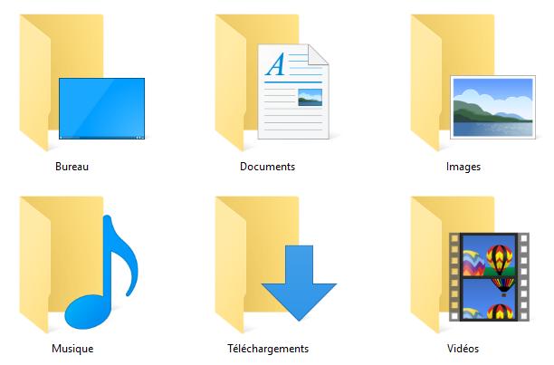 déplacer mes documents